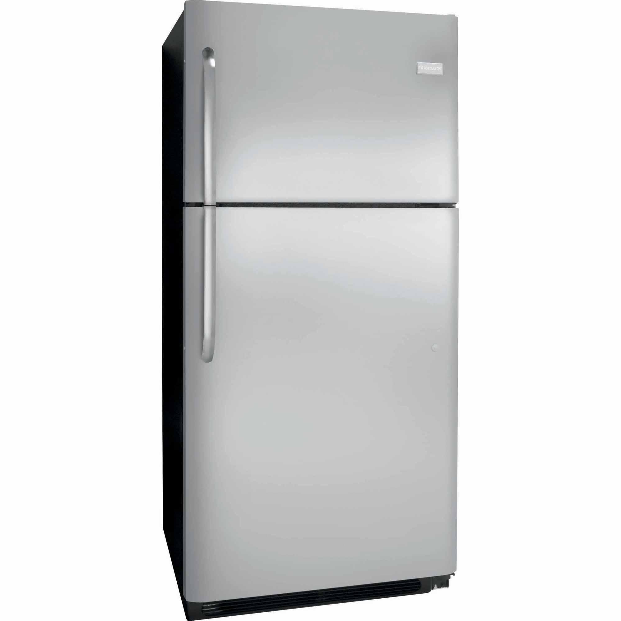 frigidaire fftr2021qs 20 4 cu  ft  top freezer