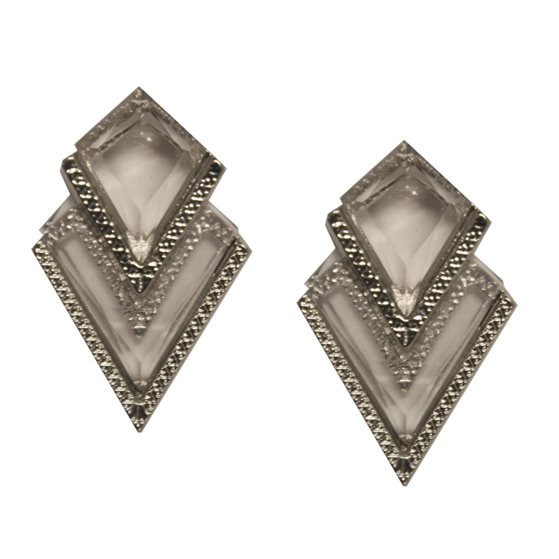 Bongo Junior's Beaded Geometric Earrings