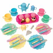 Just Kidz 37pc Princess Tea Set at Kmart.com