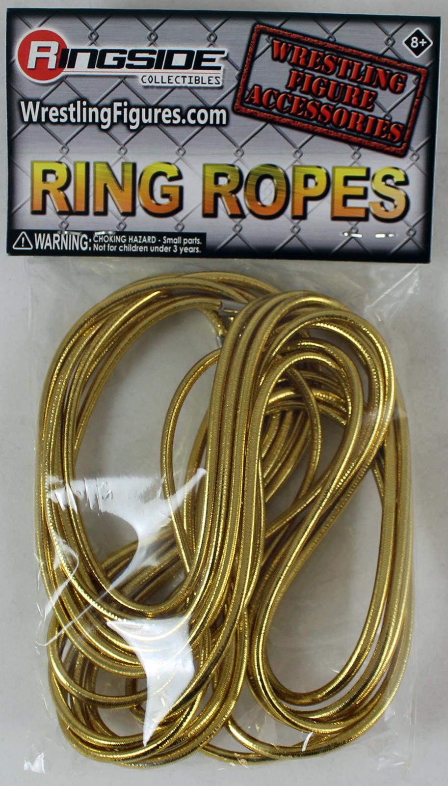 WWE Ring Ropes (Gold) -  Ringside Exclusive Toy Wrestling Action Figure Accessory PartNumber: 05248998000P KsnValue: 6398054 MfgPartNumber: REX-079