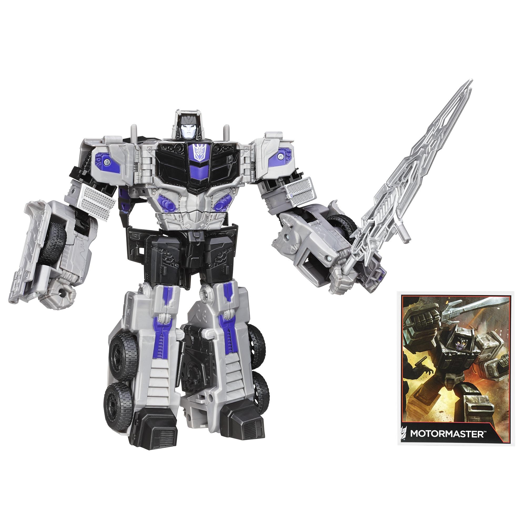 Hasbro Transformers Generations Combiner Wars Voyager Class Motormaster Figure PartNumber: 004W005450027018P