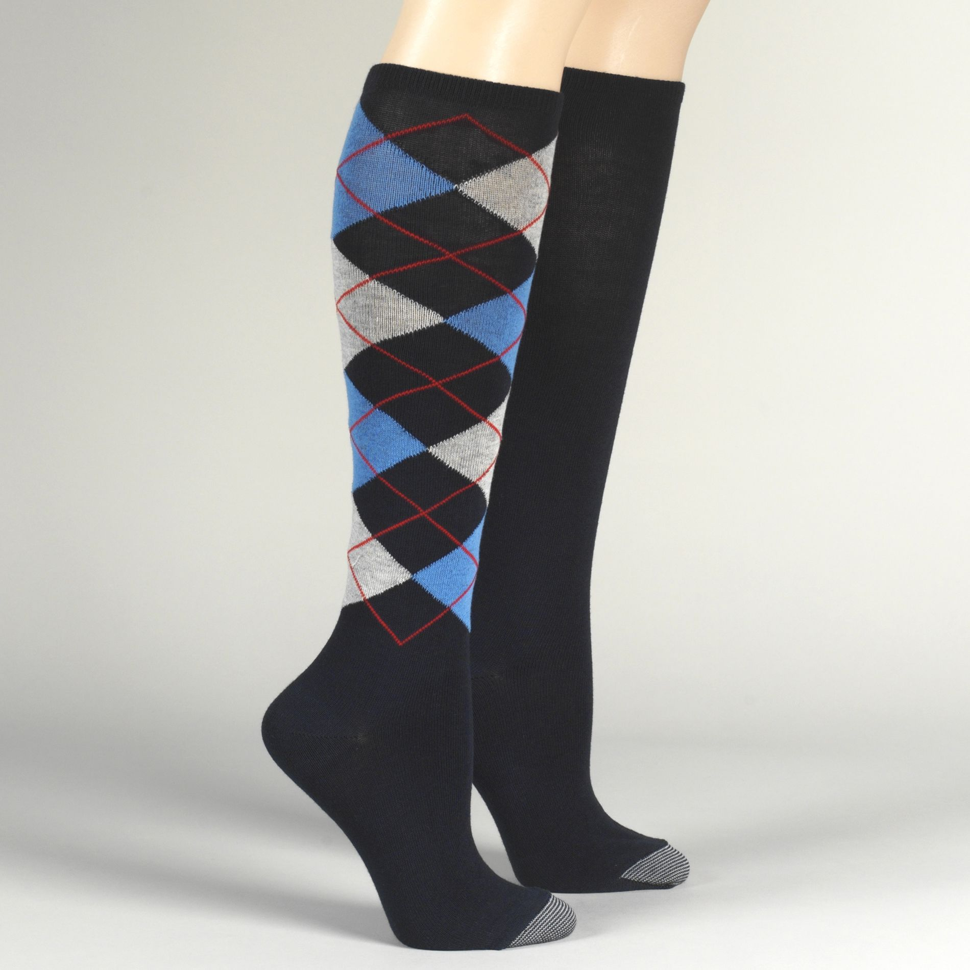 Silvertoe Women's Knee High Socks Two-Pack PartNumber: 075J2465000P MfgPartNumber: 075J2465000