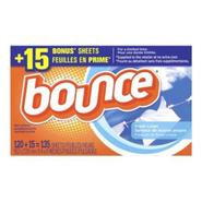 Bounce Fresh Linen Fabric Softener Dryer Sheets, 135 Count at Kmart.com