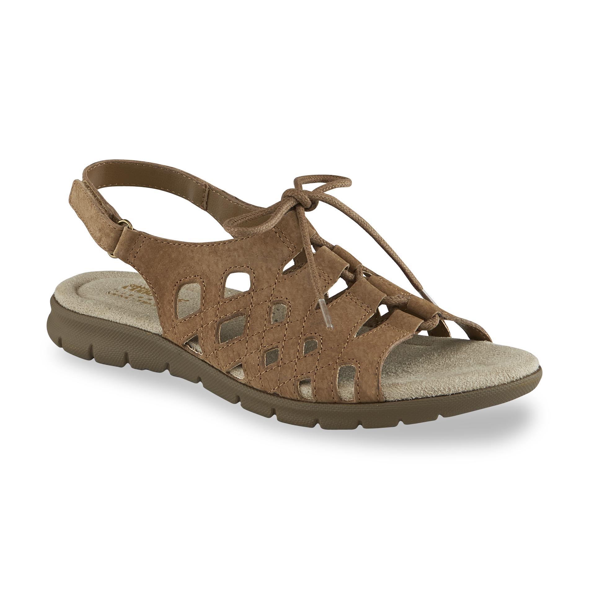Cobbie Cuddlers Women S Michaelene Brown Slingback Sandal