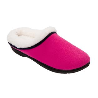 Dearfoams Women's Pink/Black Clog Slipper