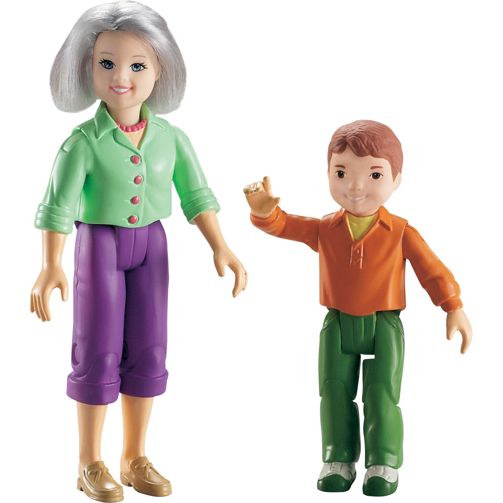Loving Family Fisher-Price Loving Family Grandma and Brother Dolls PartNumber: 004W725444110001P
