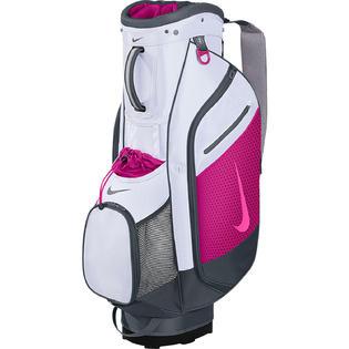 Nike Sport Cart III Women's Golf Bag White/Pink POW-Fireberry ... on the best golf cart bags, women's golf bag with wheels, women's designer golf bags, 2014 golf cart bags, women's golf accessories gifts, sun mountain women's cart bags, product cart bags, 10 inch ping cart bags, custom cart golf bags, red golf cart bags, golf cart golf bags, men's golf cart bags, women's plaid gloves, tour edge golf cart bags,