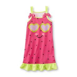 WonderKids Toddler Girl's Sleeveless Nightgown - Watermelon at Kmart.com