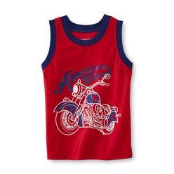 WonderKids Infant & Toddler Boy's Graphic Dazzle Tank Top - Motorcycle at Kmart.com