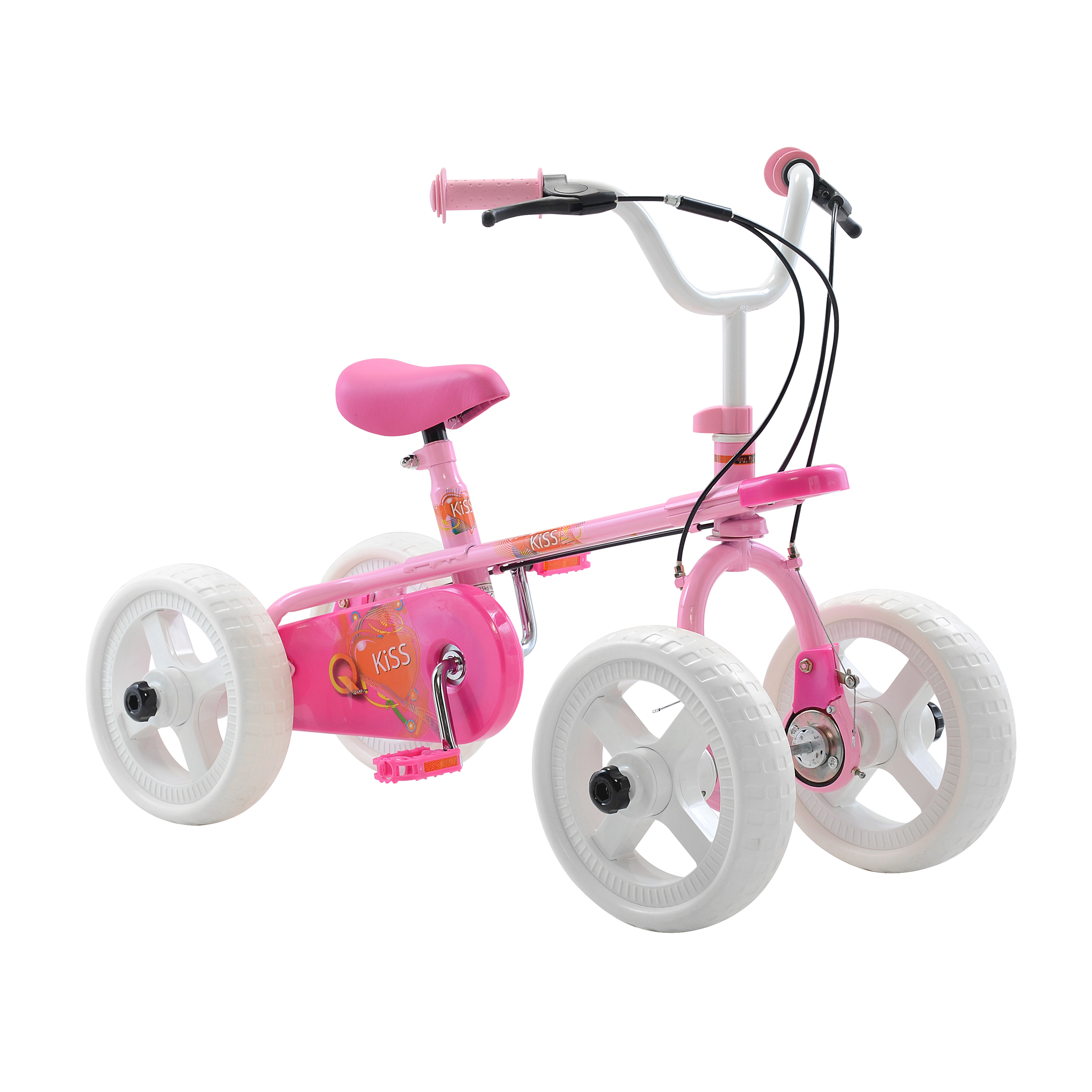 Quadrabyke Kiss 4-Wheel Bike PartNumber: 00683415000P KsnValue: 7494847 MfgPartNumber: KT095-01