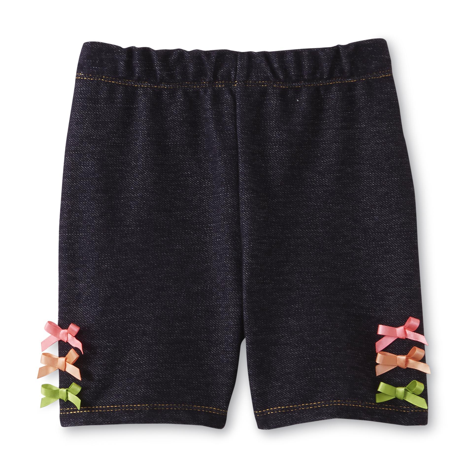 Infant & Toddler Girl's Knit Bike Shorts - Bows