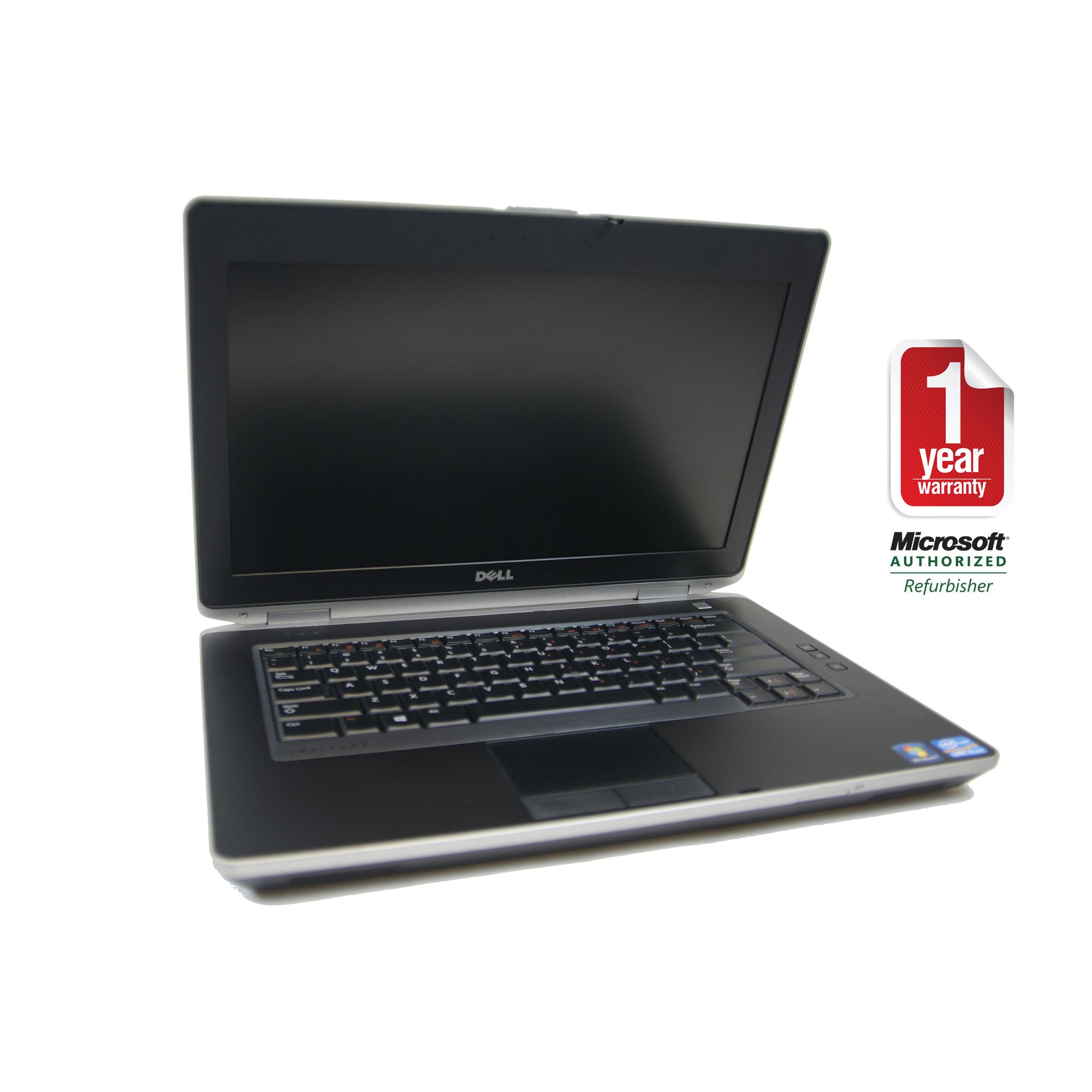 DELL E6430 refurbished laptop PC CORE I5-2.6 3RD GEN 3320M/8GB/256GB SSD/DVDRW/14/W7P64