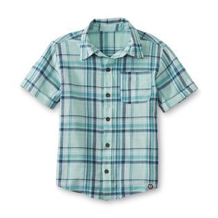 Toughskins Infant & Toddler Boy's Short-Sleeve Shirt - Plaid