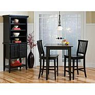Home Styles 3PC Arts & Crafts Bistro Set Ebony Finish at Kmart.com