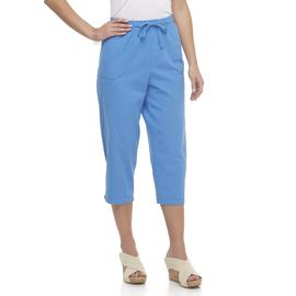 Basic Editions Women's Capri Pants at Kmart.com