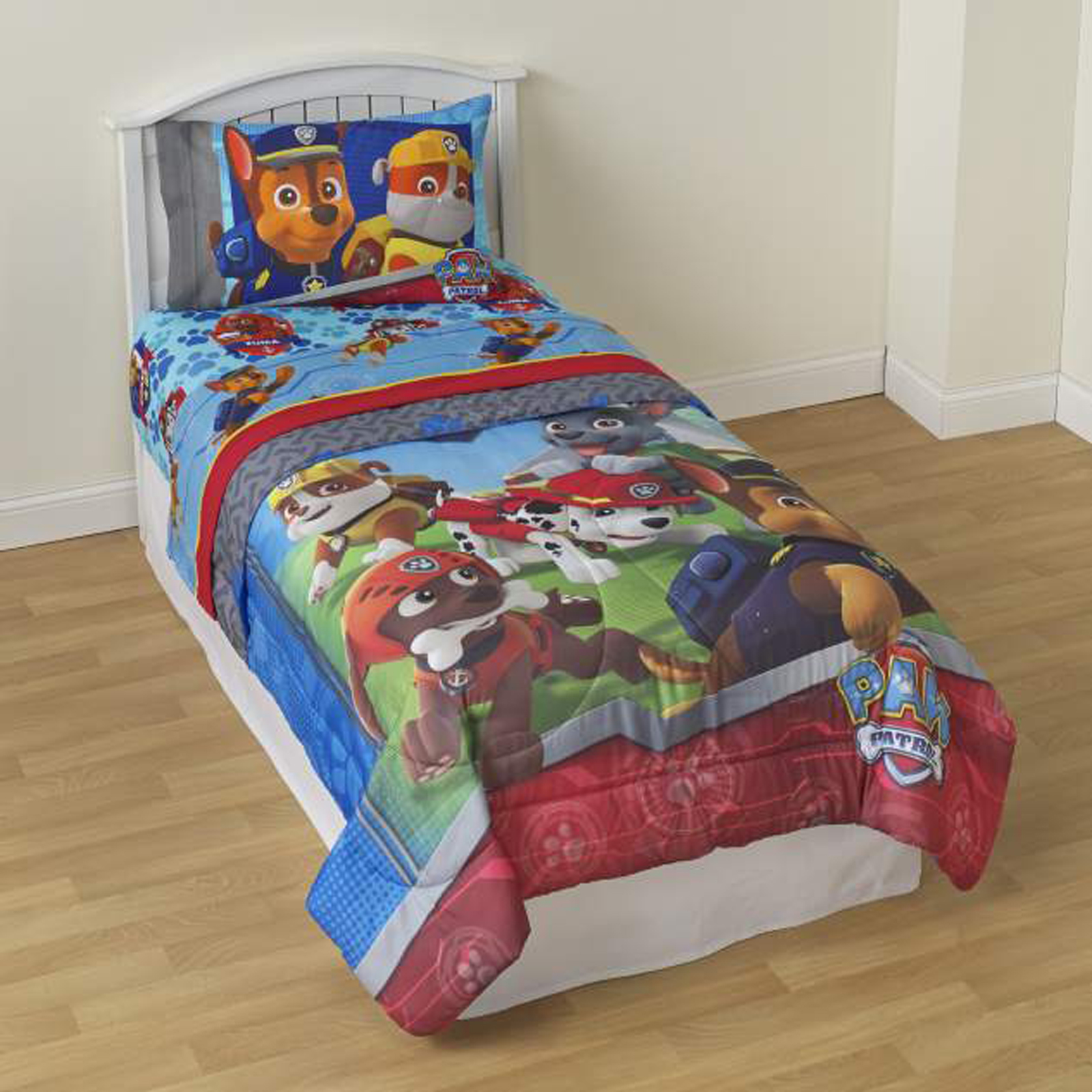 Image of Nickelodeon Comforter - PAW Patrol, Size: Twin, Blue
