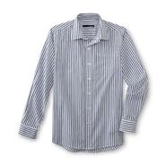 Basic Editions Boy's Button-Front Shirt - Striped at Kmart.com