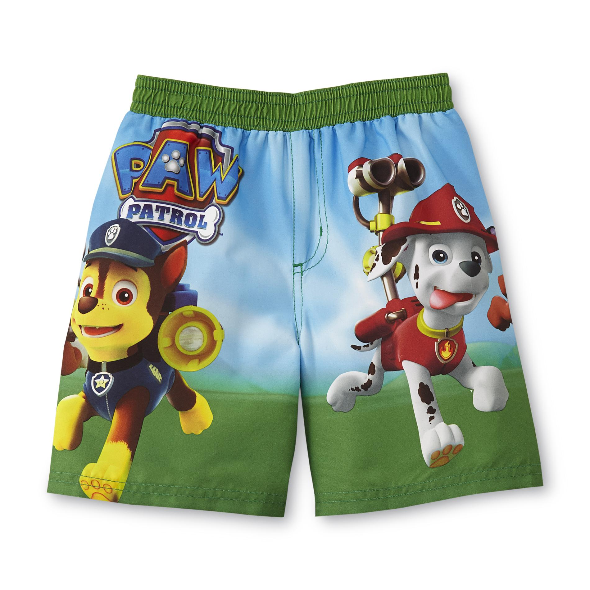 eea0624aa0e83 Nickelodeon PAW Patrol Toddler Boy's Swim Shorts