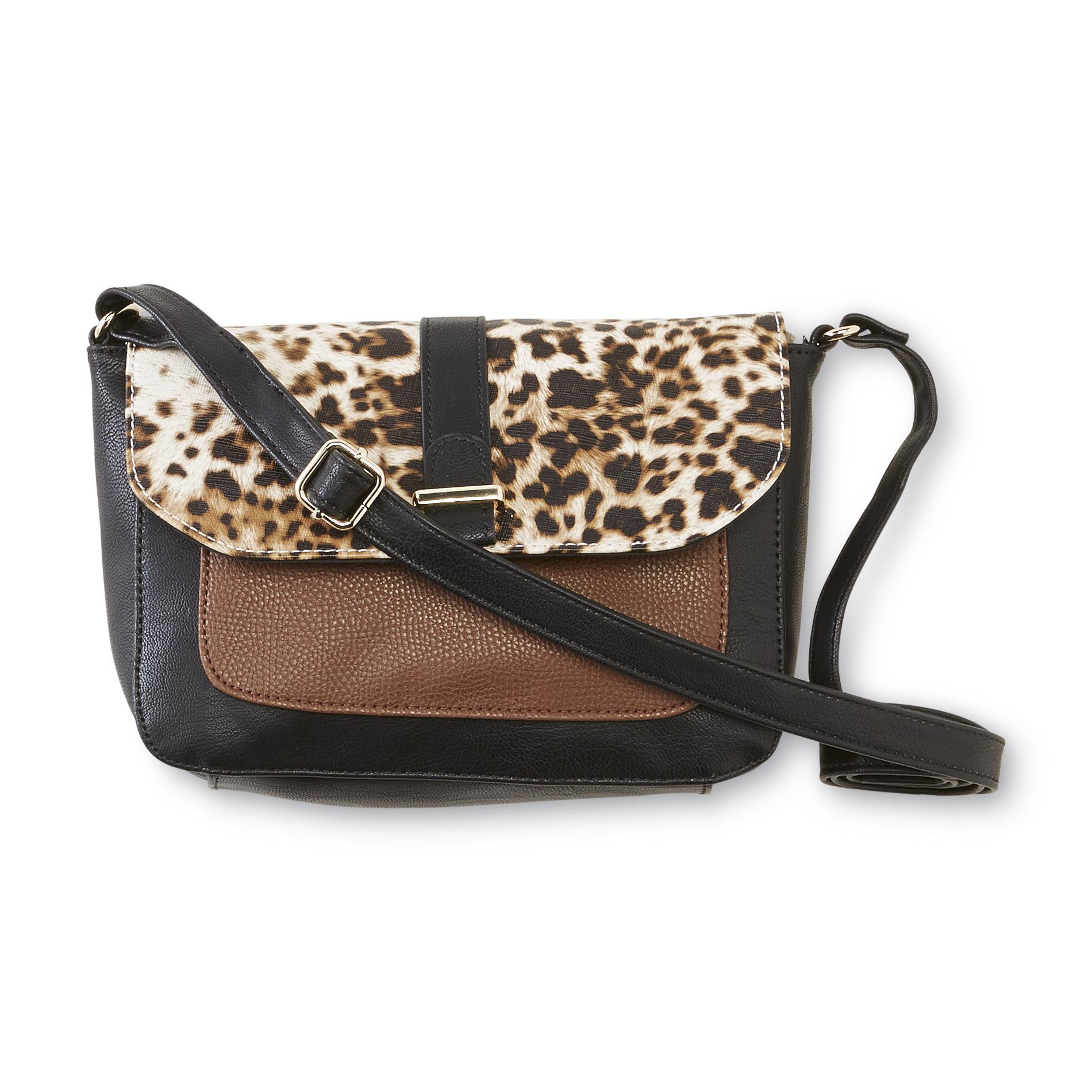 Jaclyn Smith Women's Cape May Shoulder Bag - Cheetah Print