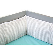 Trend Lab Dove Gray Chevron Crib Bumpers at Kmart.com