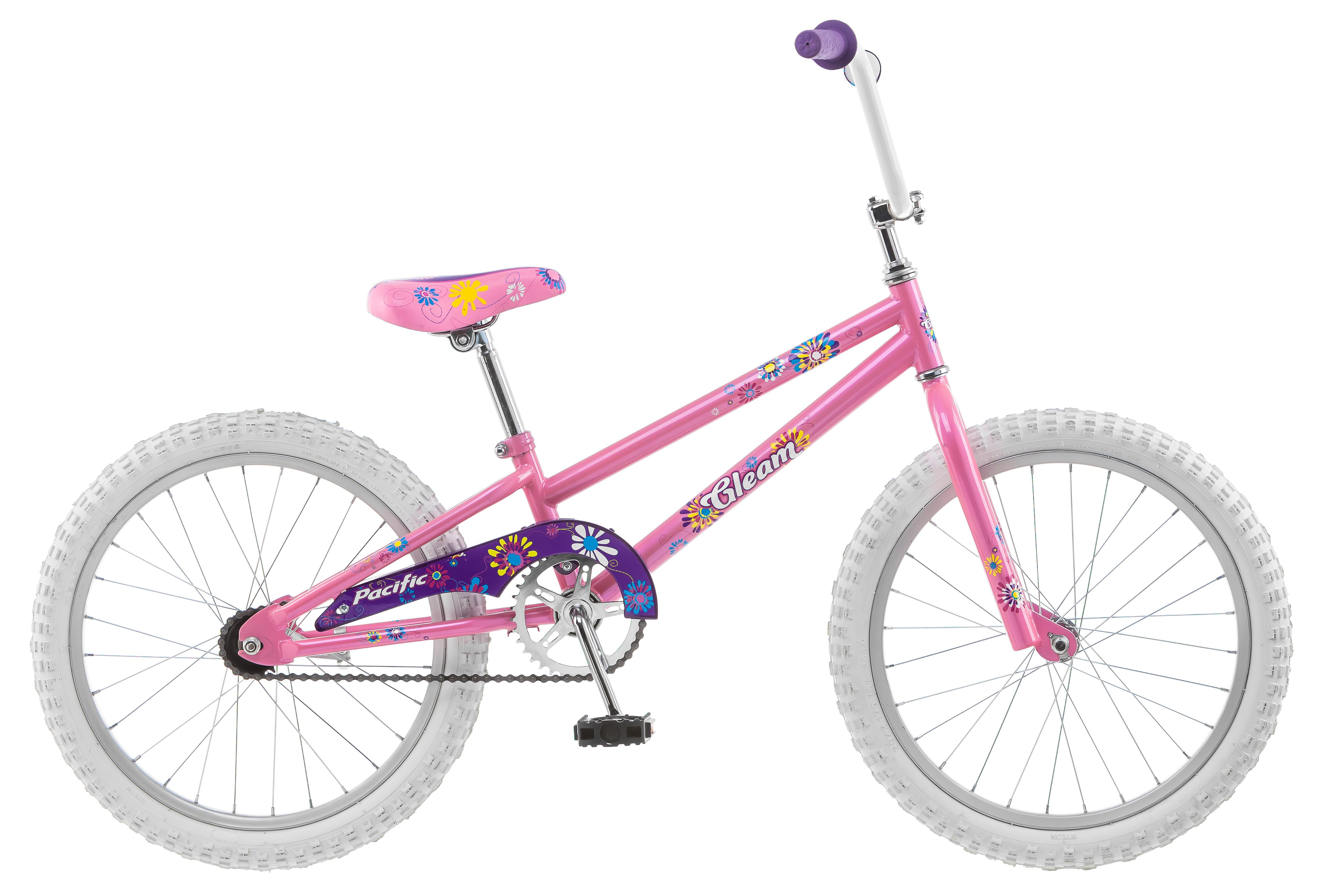"""Pacific 20"""" Girl's Gleam Bike"""