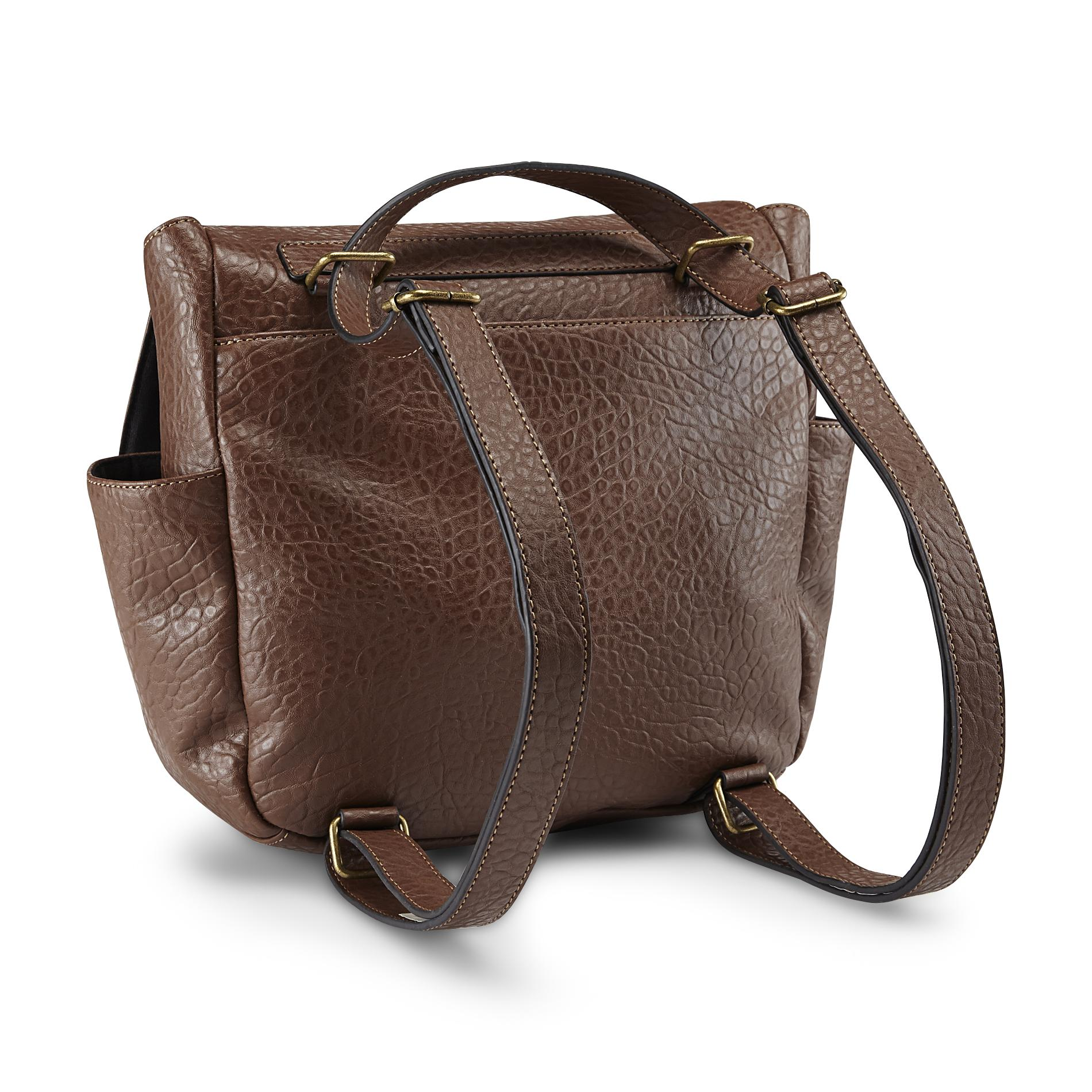 Joe Boxer Women's Back Story Convertible Messenger Bag