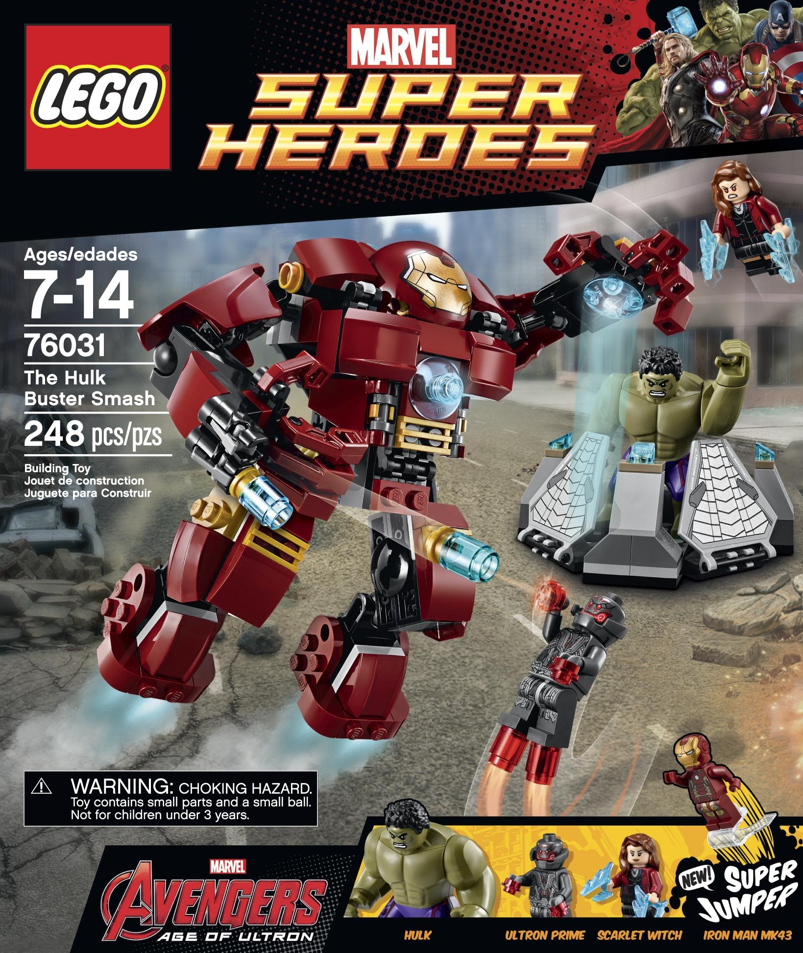Lego super heroes marvel the hulk buster smash set 76031 kmart
