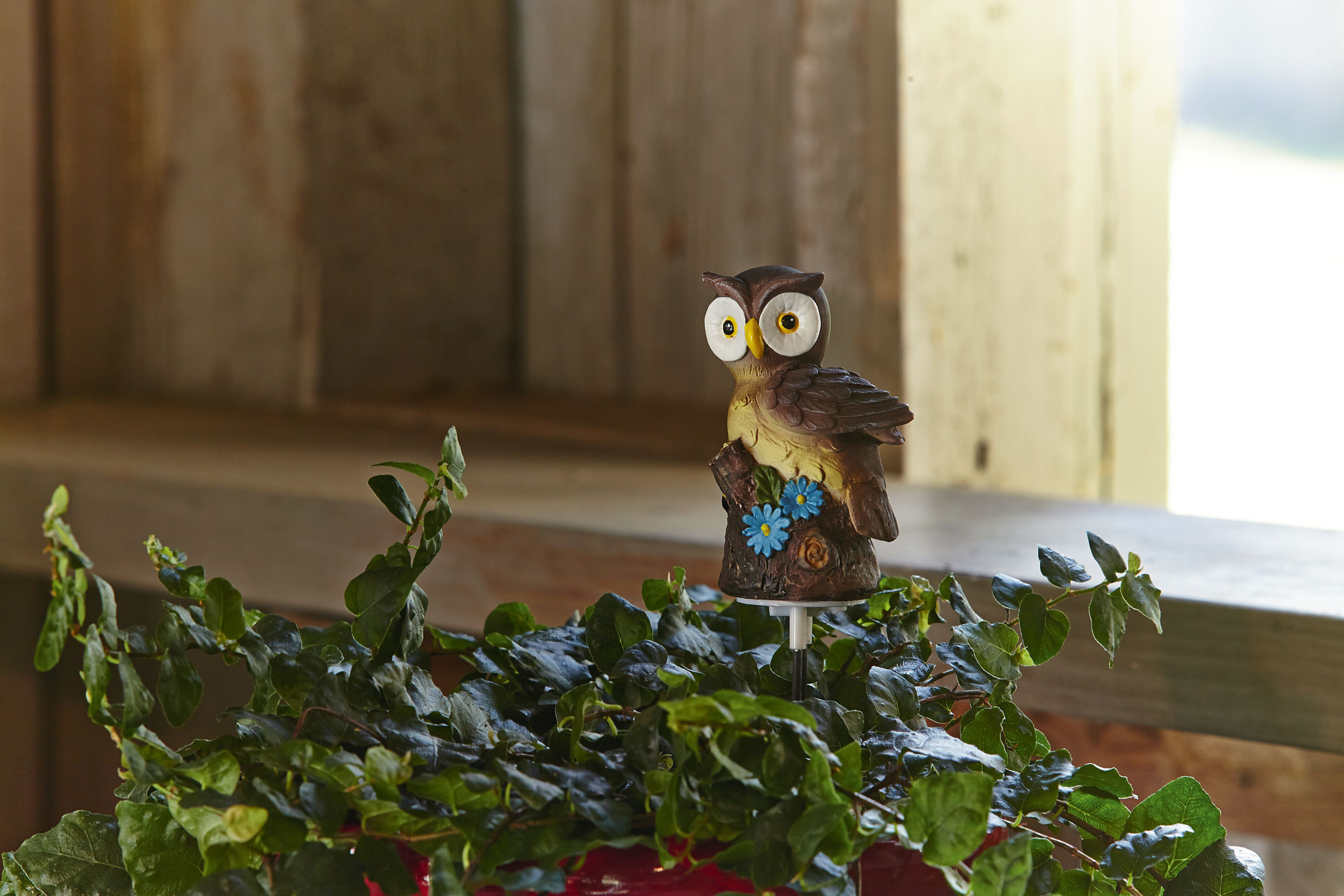 Essential Garden Animal Humidity Inductor- Owl