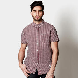 Adam Levine Men's Gingham Shirt with Selvage Pocket at Kmart.com