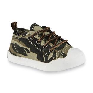 OshKosh Toddler Boy's Westley Green/Camouflage Sneaker