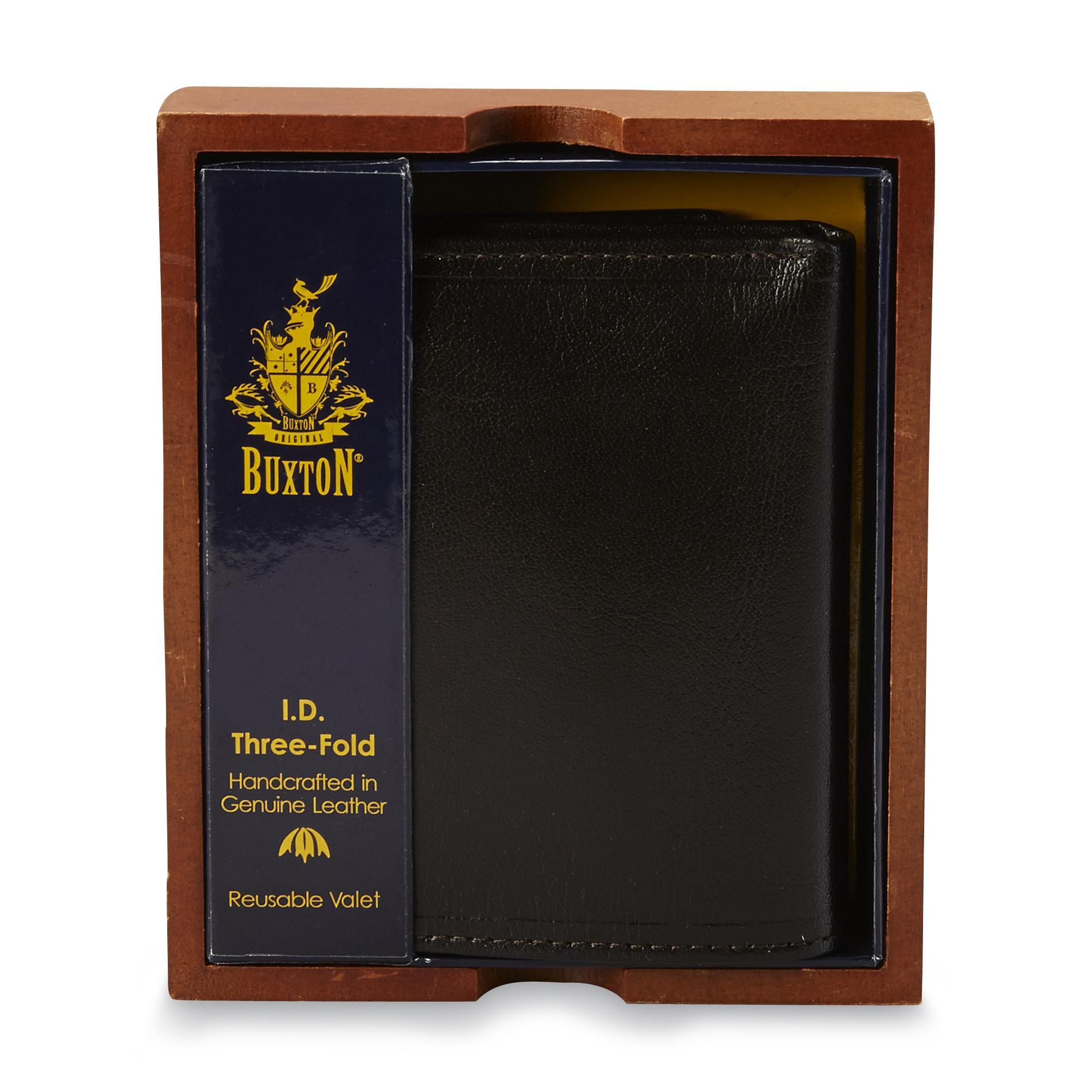 Buxton Men's ID Trifold Wallet