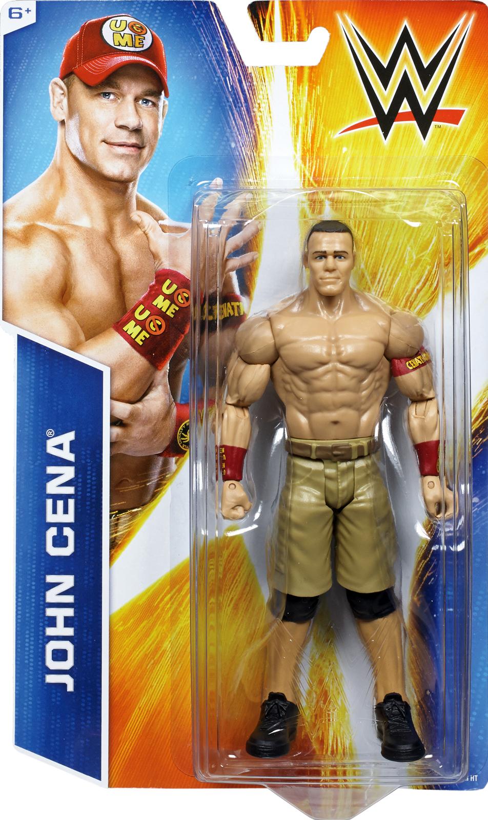 WWE John Cena - WWE Signature Series 2014 Toy Wrestling Action Figure PartNumber: 004V007540154000P KsnValue: 004V007540154000 MfgPartNumber: SIG14-02