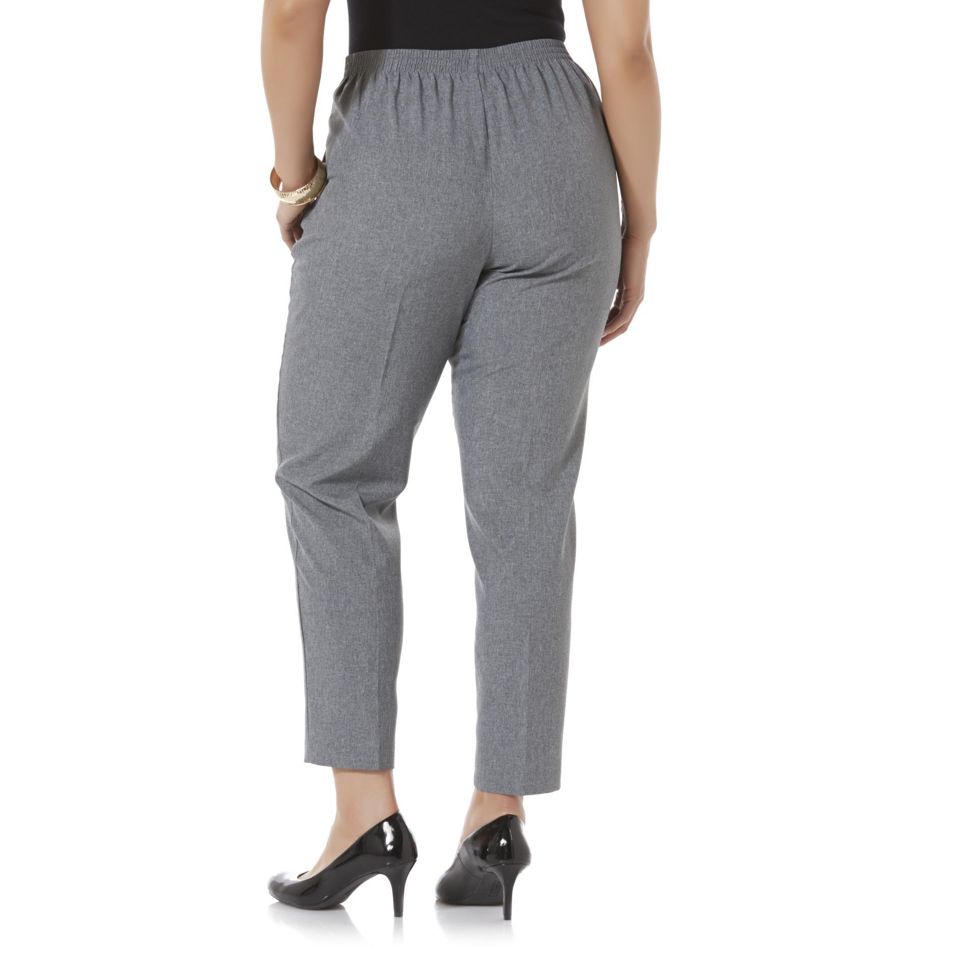 Laura Scott Women's Plus Comfort-Waist Pants