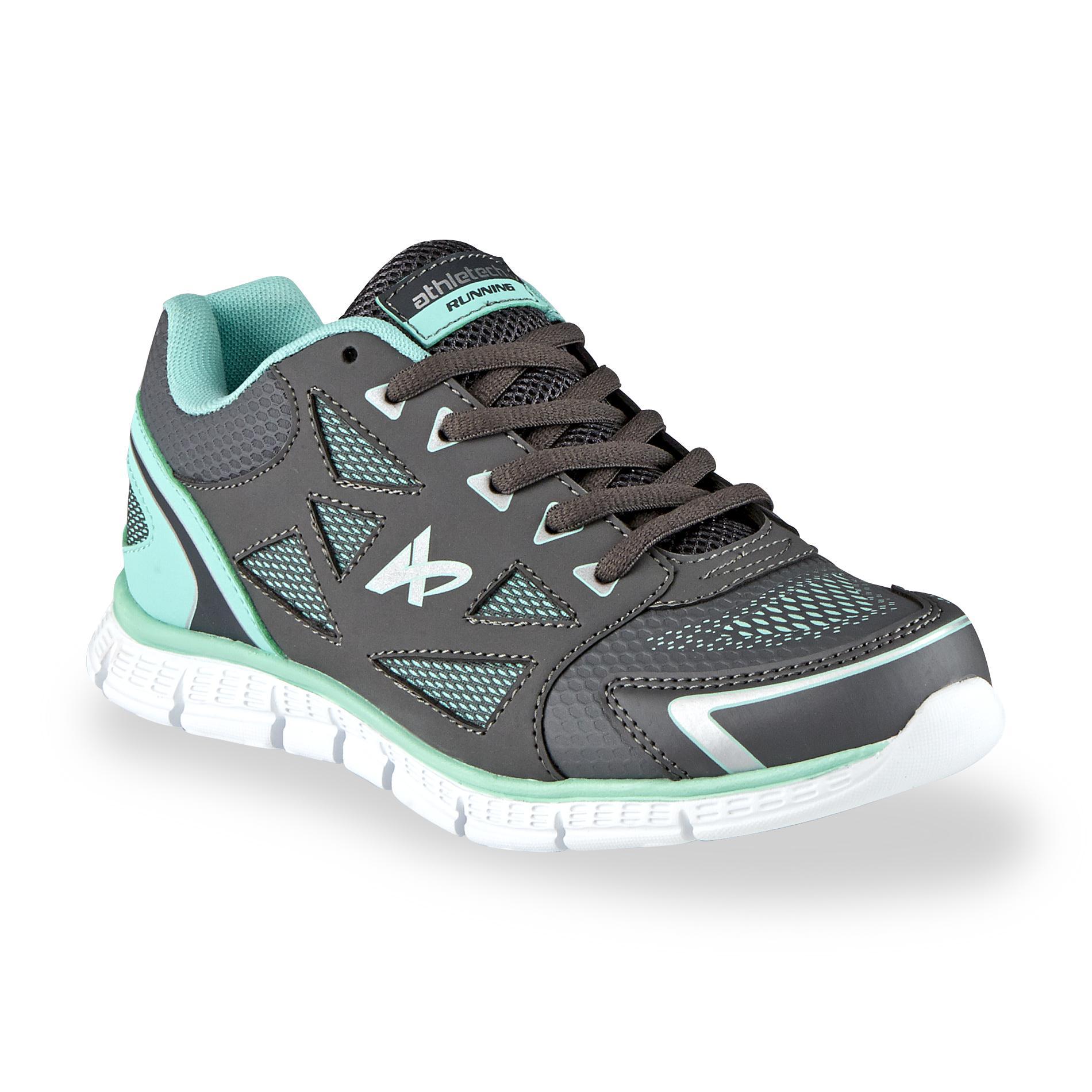 Athletech Women's Dash Gray/Aqua Running Shoe