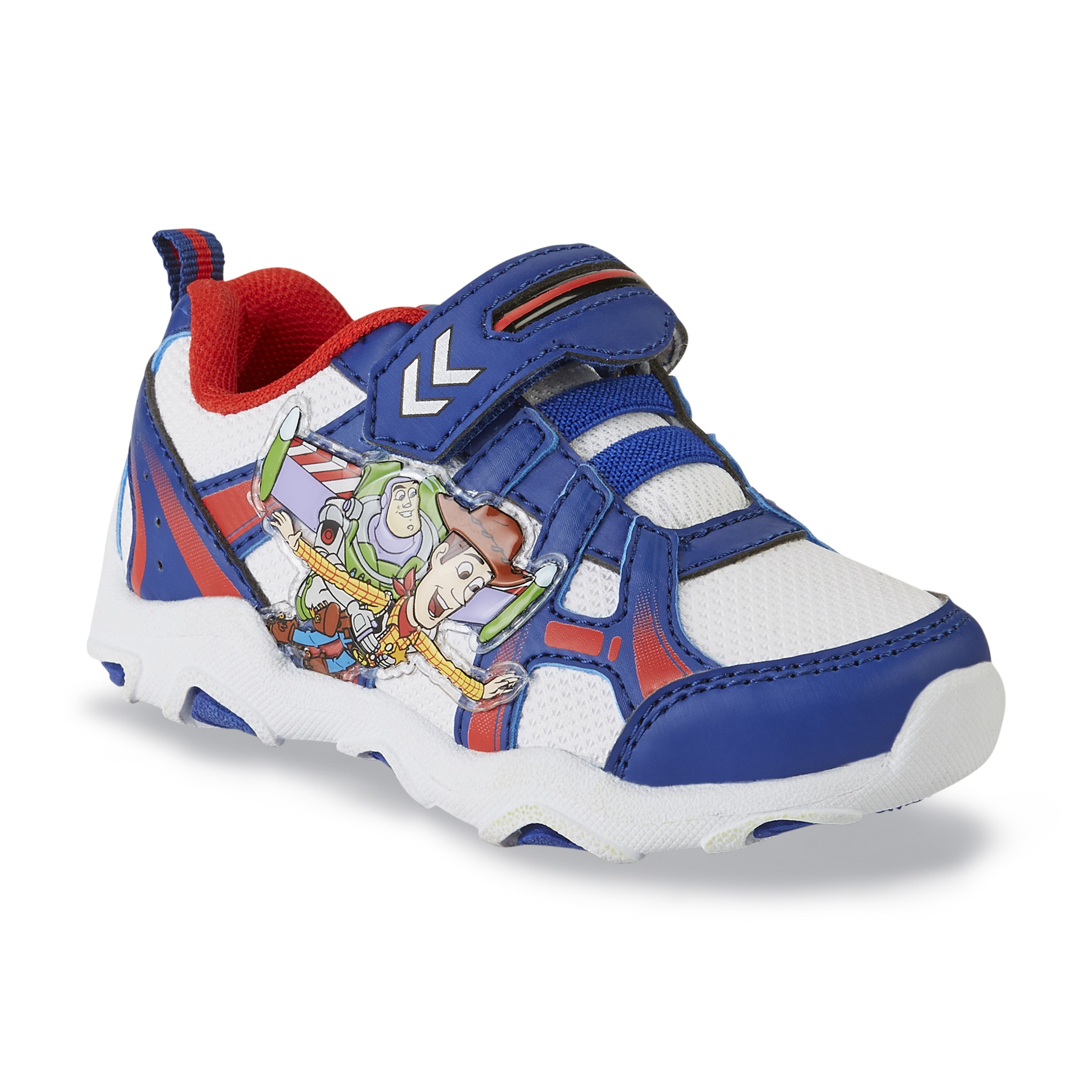 Disney Toddler Boy's Toy Story Navy/Red Sneaker