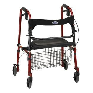 Nova Ortho-Med Inc Cruiser De-Light Walker Red