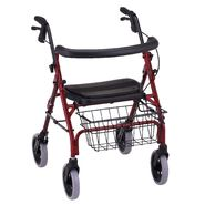 Nova Ortho-Med Inc Walker, 4-Wheel, Red, 1 walker at Kmart.com