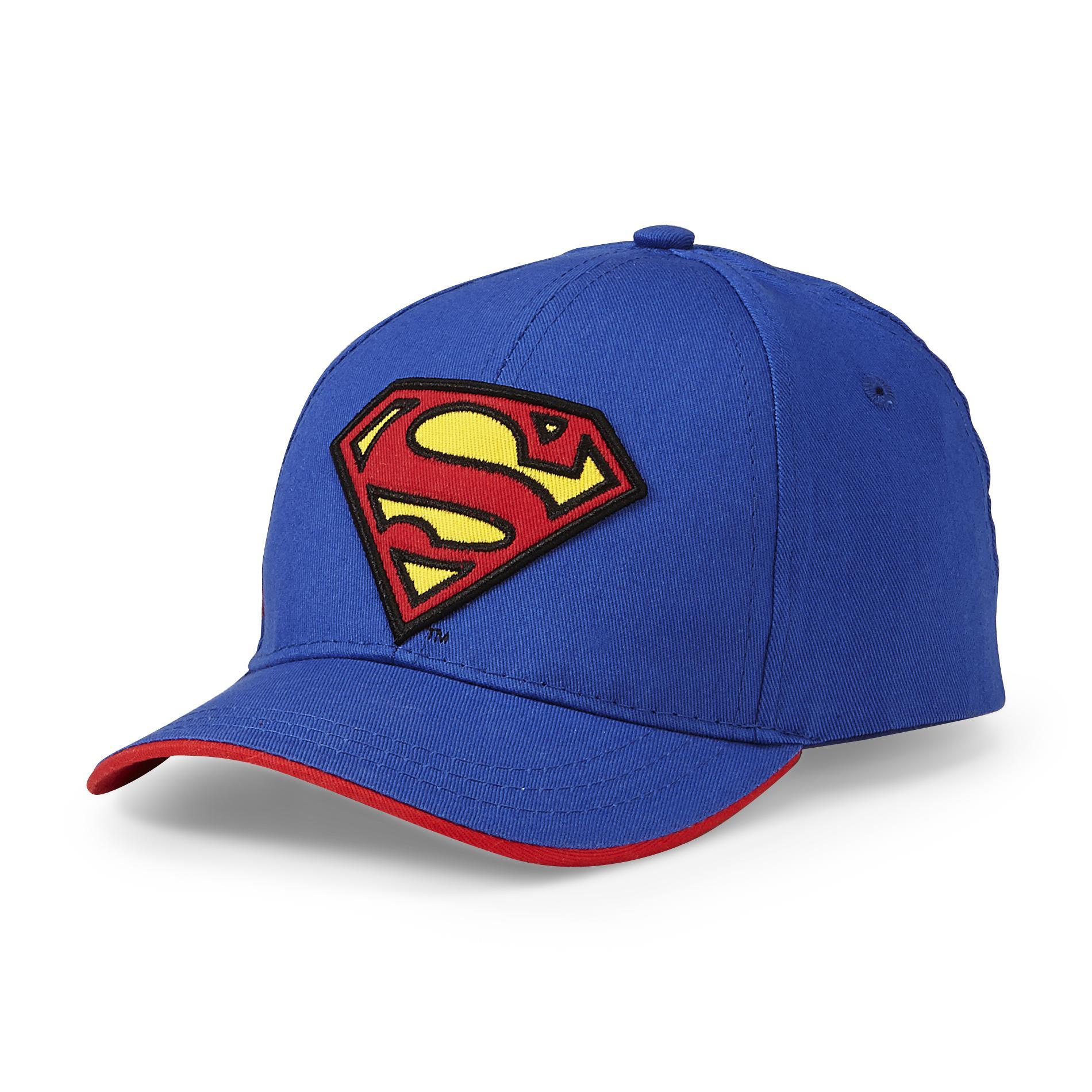 dc comics superman toddler boy s baseball hat