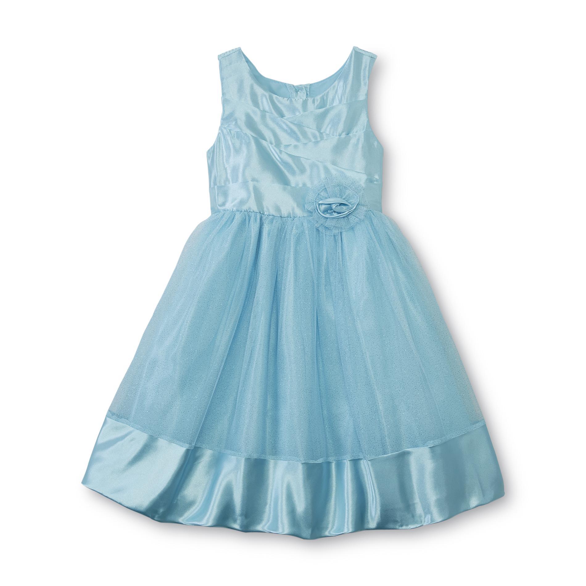 Youngland Girl's Sleeveless Party Dress