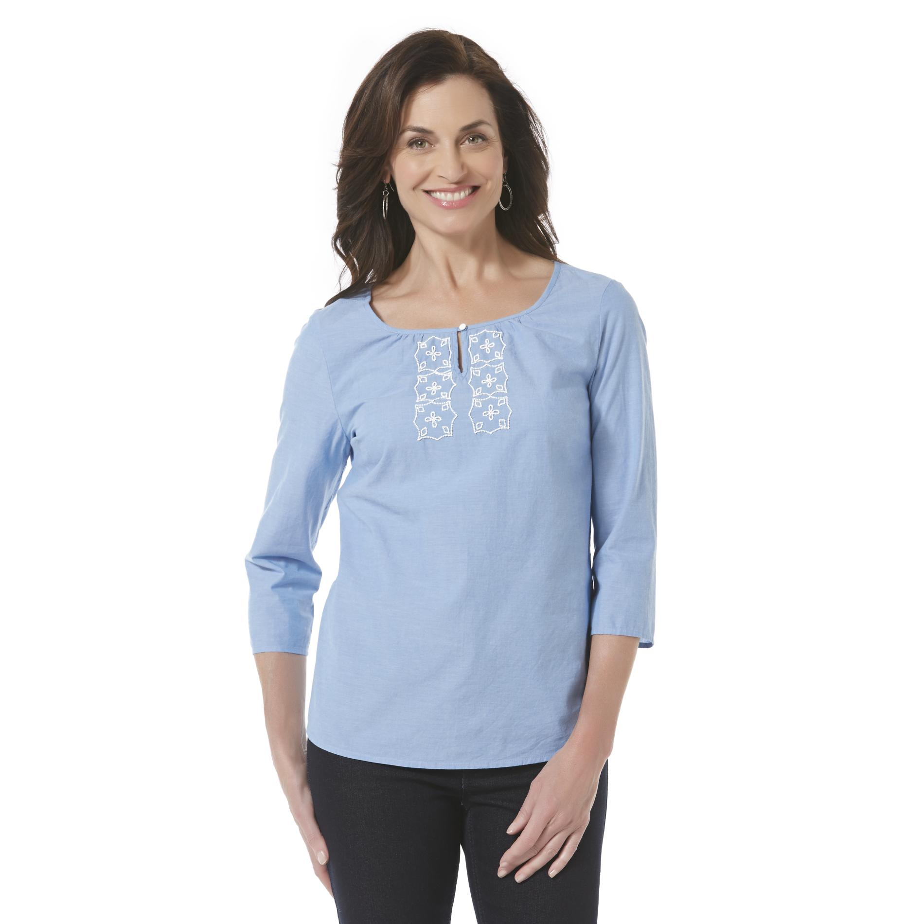 Shop the Chambray Pocket Tunic at newuz.tk Factory and find everday deals on Women's Lounge.