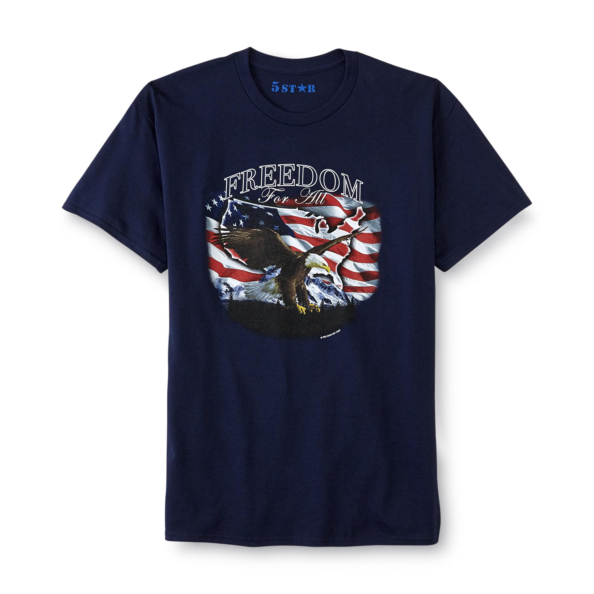 Men's Graphic T-Shirt - Freedom For All
