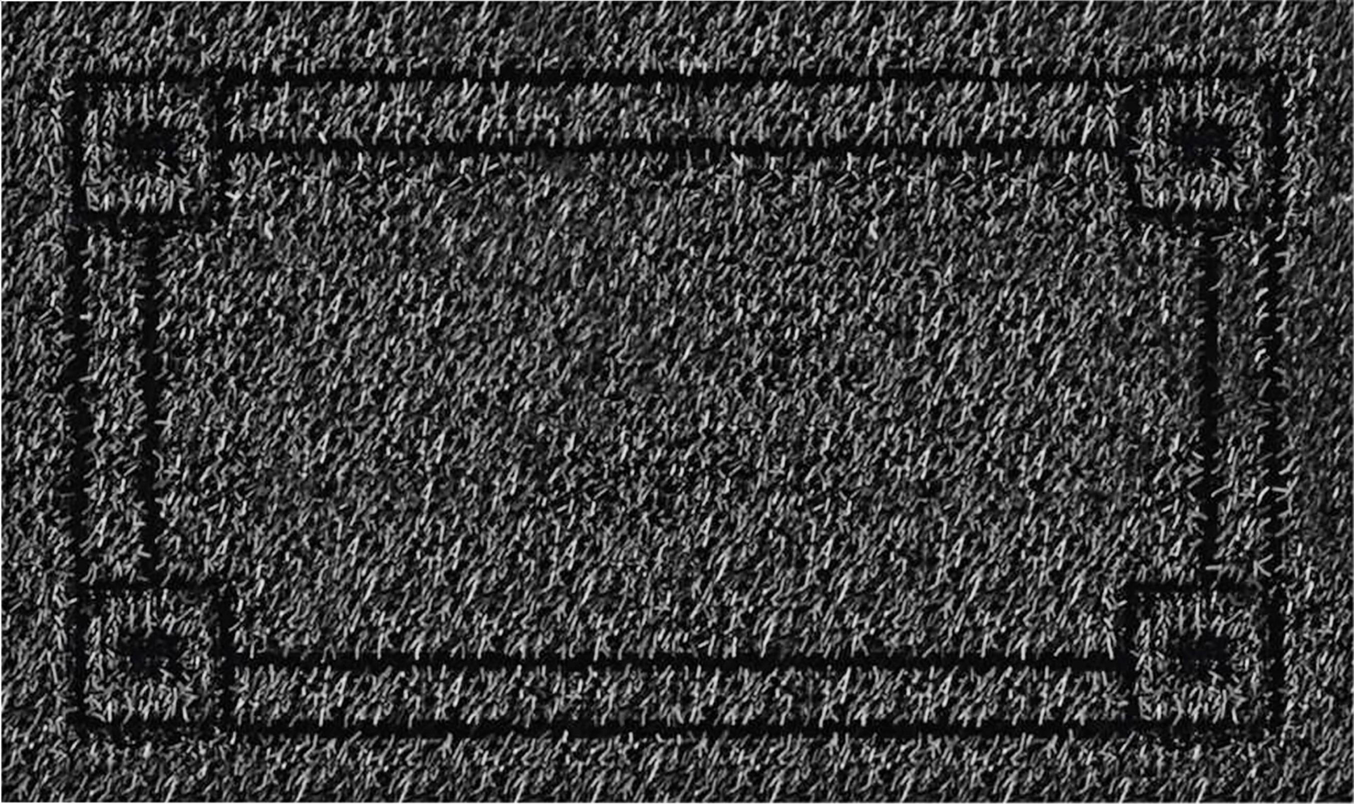 Image of Clean Machine Rectangle Doormat – 18 X 30, Gray