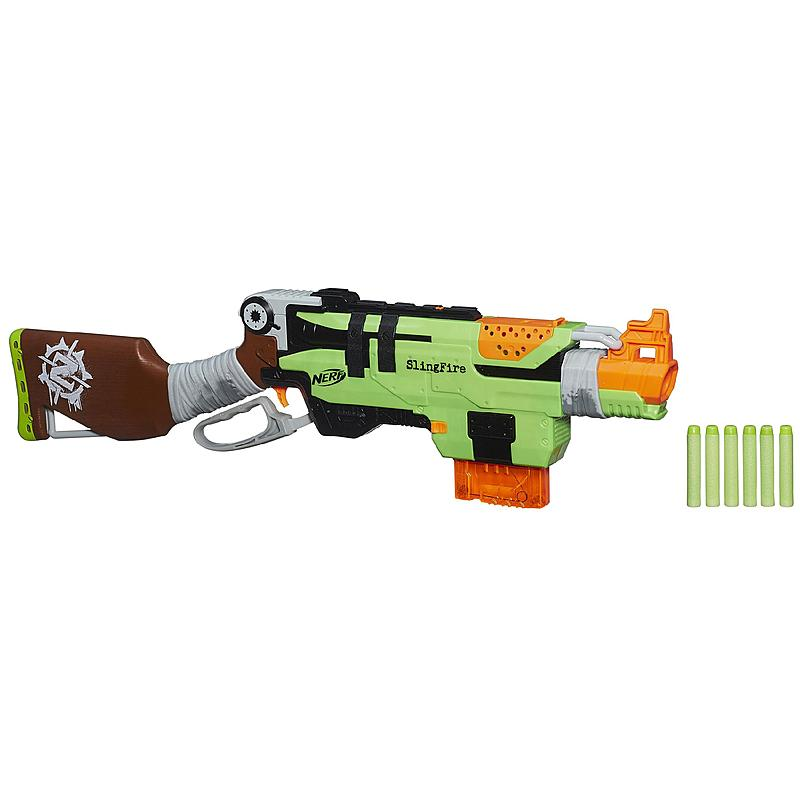 Nerf Zombie Strike SlingFire Blaster   Toys & Games   Outdoor Play
