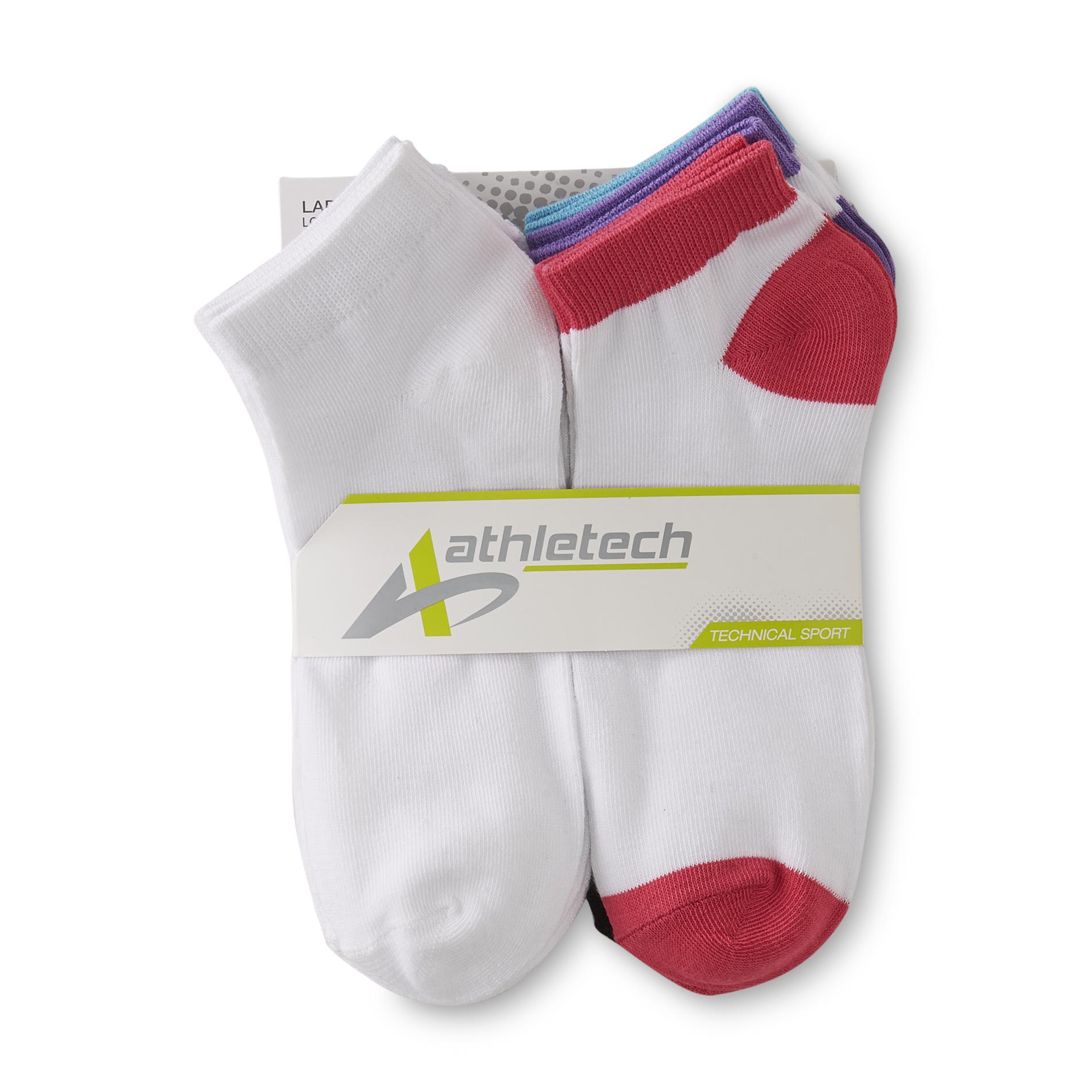 Women's 10-Pairs Technical Sport Low-Cut Liner Socks - Colorblock