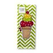 John Ritzenhaler Cotton Kitchen Towel - Ice Cream Cone at Kmart.com