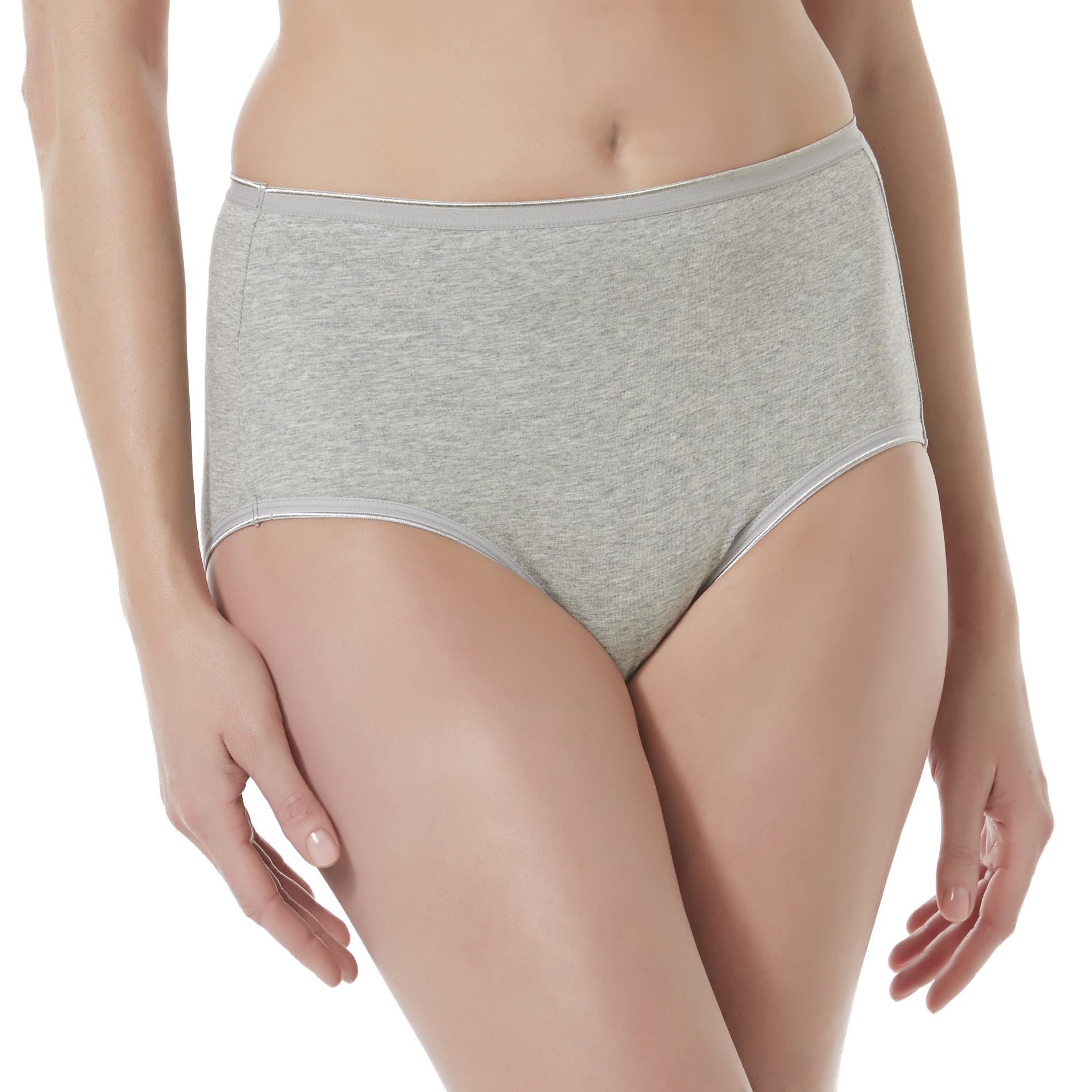 Women's Brief Panties - Heathered