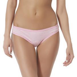 Jaclyn Smith Women's Bikini Panties - Gingham at Kmart.com