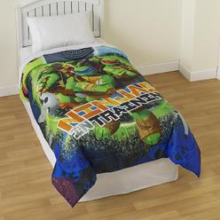 Nickelodeon Teenage Mutant Ninja Turtles Boy's Reversible Twin Comforter at Kmart.com