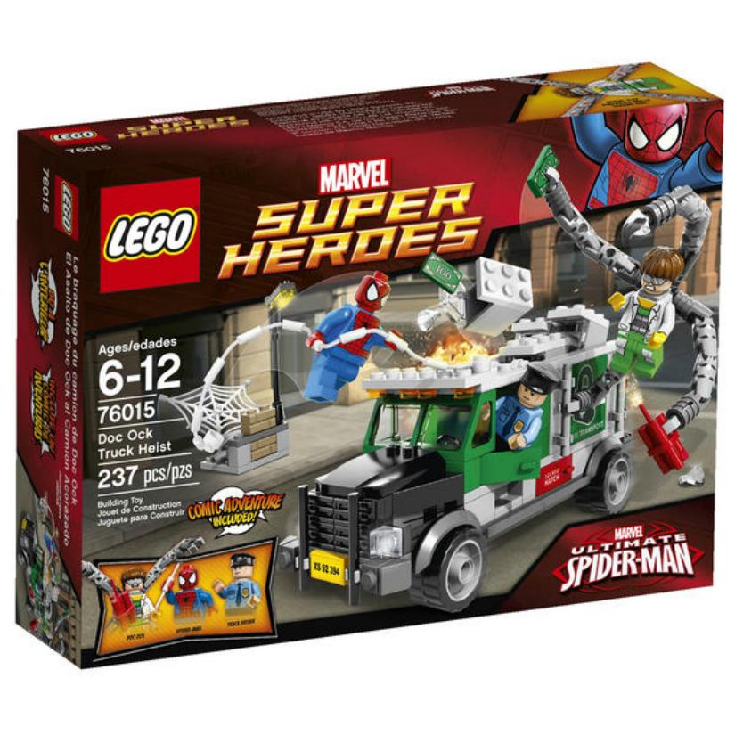 LEGO Super Heroes Marvel Doc Ock Truck Heist 7 #6015 PartNumber: 004W004408408002P KsnValue: 4408408 MfgPartNumber: 76015