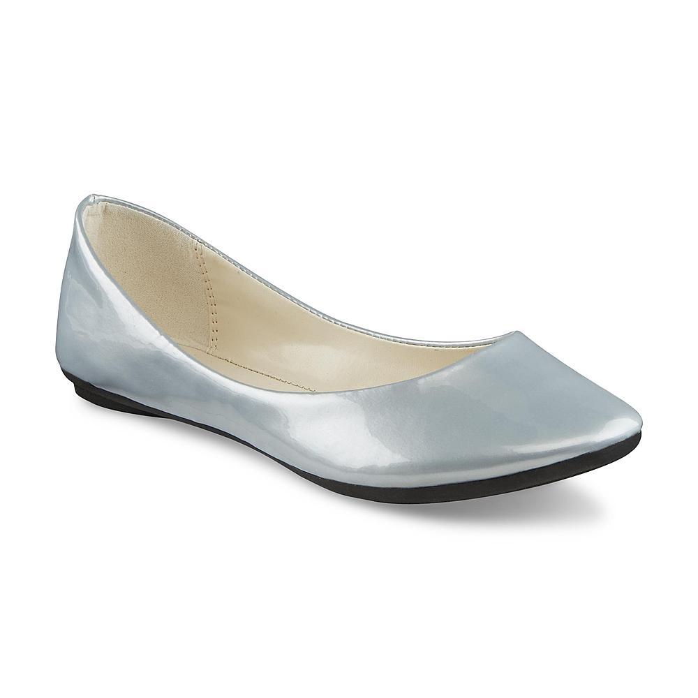 Covington Women's Avanti Silver Ballet Flat